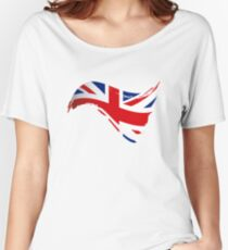 The Flag of The United Kingdom I Women's Relaxed Fit T-Shirt