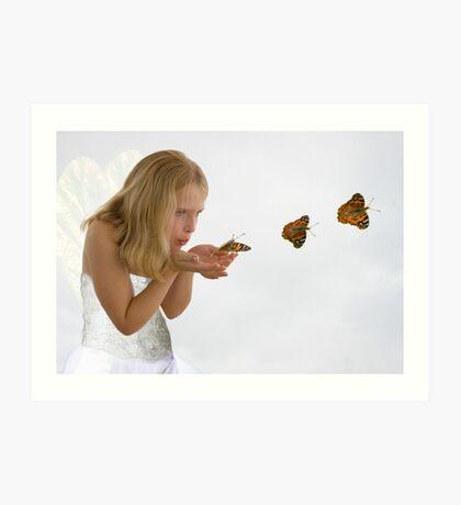 I do, I do, I do believe in fairies............. Art Print