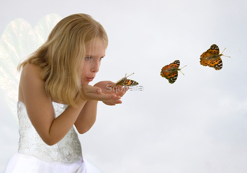 I do, I do, I do believe in fairies............. by Squealia