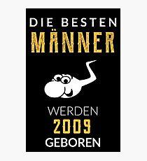 Die besten Männer werden 2009 geboren lustiges Geschenk Photographic Print