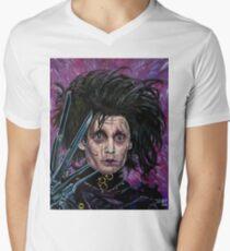 Edward Scissorhands V-Neck T-Shirt