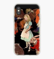 Alice in Wonderland and her Animals iPhone Case