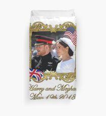 Prince Harry und Meghan Markle Königliche Hochzeit Bettbezug