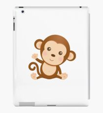 Little monkey cute design iPad Case/Skin