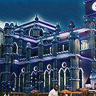Lagos Cathedral - Pop Art Collection by Wonuola Lawal