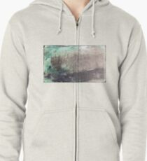 Abstract background  Zipped Hoodie