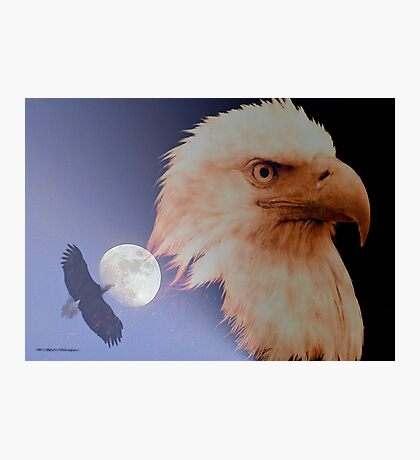 Bad Moon Rising Photographic Print