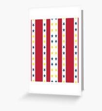 Tee Shirt Abstract  Greeting Card