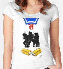 that's a big twinkie Women's Fitted Scoop T-Shirt