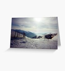 The Pyranees, Andorra Greeting Card
