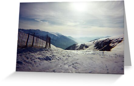 The Pyranees, Andorra by Kymbo