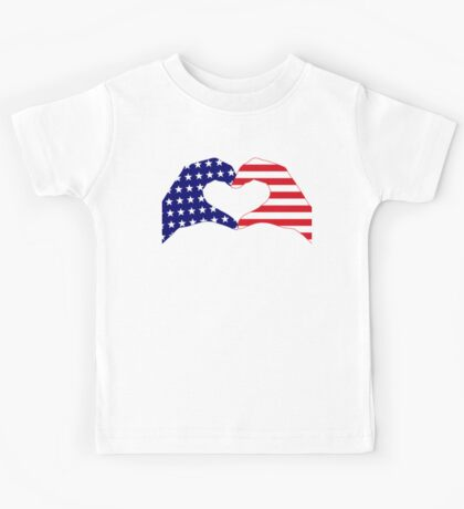 We Heart the United States of America Patriot Series Kids Clothes