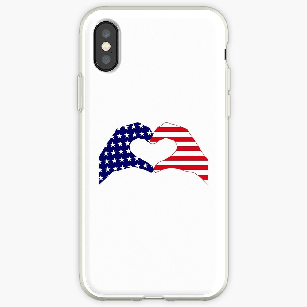 We Heart the United States of America Patriot Series iPhone Case & Cover