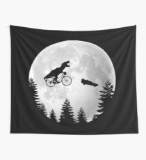 A Spielberg Tribute Wall Tapestry