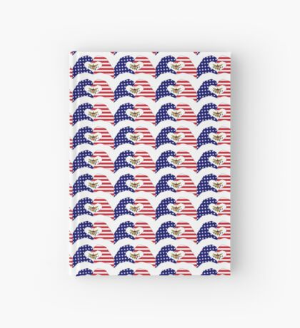 We Heart U.S. Virgin Islands Patriot Series Hardcover Journal