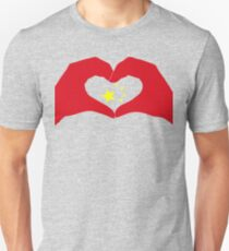We Heart China Patriot Flag Series Slim Fit T-Shirt