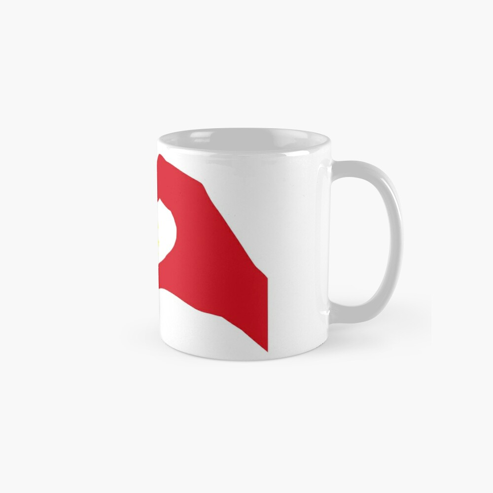 We Heart China Patriot Flag Series Mugs