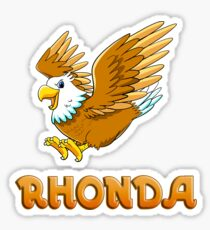 Rhonda Eagle Sticker Sticker