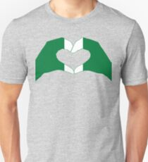 We Heart Nigeria Patriot Flag Series Slim Fit T-Shirt