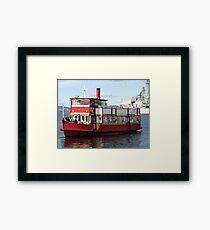 Water Taxi, Hobart Tasmania Framed Print