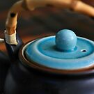 gentle afternoon pu-erh tea and japanese teapot by MacLeod