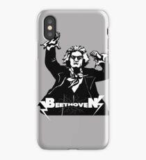 Metal Beethoven II iPhone Case