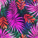 Sommer tropische Palmblätter von poisondesign
