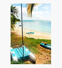 Relaxing in Antigua  Photographic Print