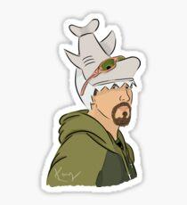 """Sharky"" Boshaw Sticker"