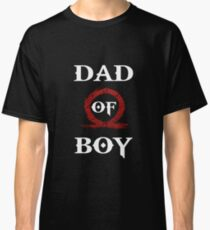 Dad of Boy - God of War Classic T-Shirt