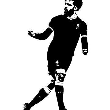 Mo Salah - LFC Liverpool Mohamed Salah Design - Camiseta, camiseta, reloj, caja del teléfono, de ConArtistLFC