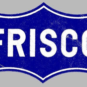 Frisco Railroad by turboglyde