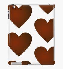 Red Heart Simplistic Pattern  iPad Case/Skin