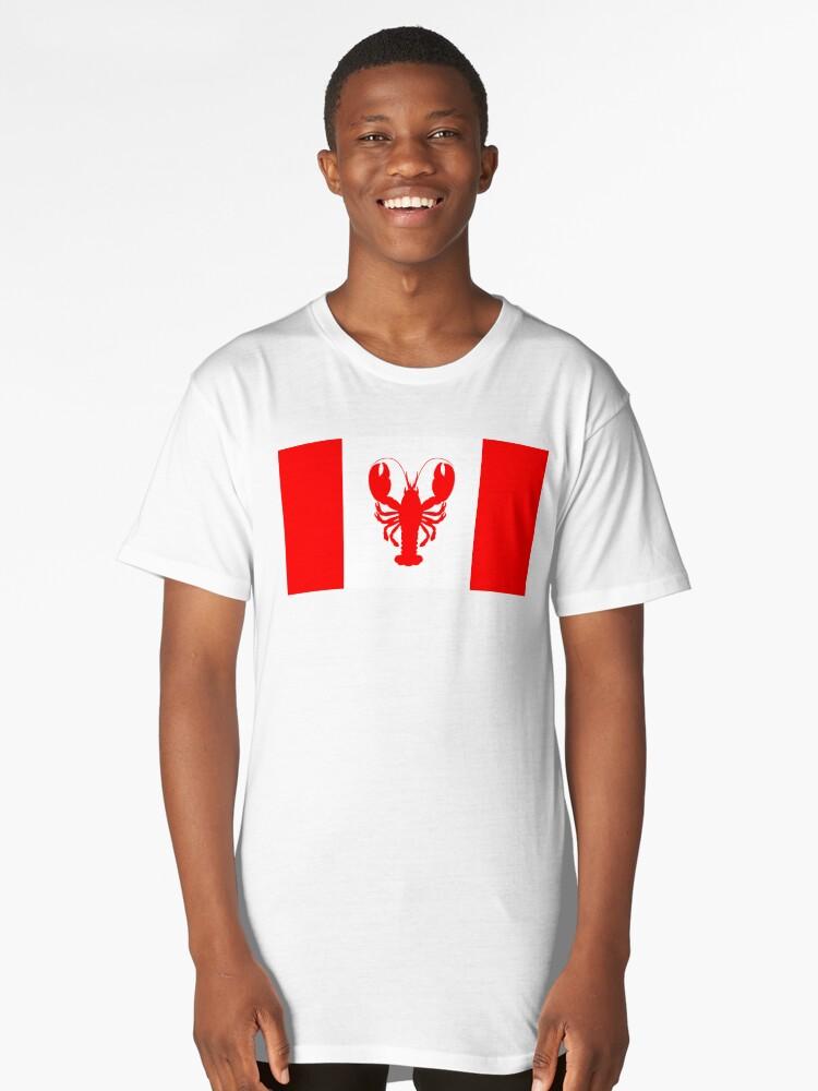54f61966e75 Jordan B Peterson Lobster Canadian Flag JBP shirt