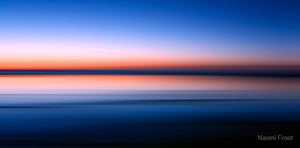 Dudley Beach Dawn by Naomi Frost