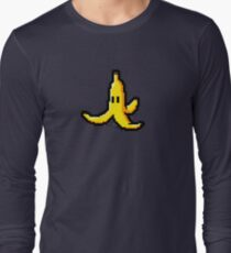 Pixel Banana Skin Long Sleeve T-Shirt