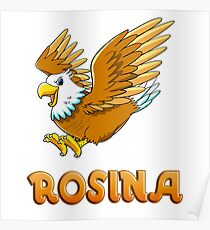 Rosina Eagle Sticker Poster