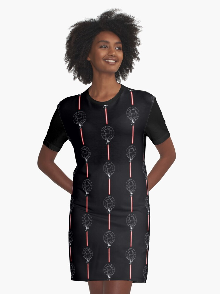 Hand of the Sith Graphic T-Shirt Dress Front