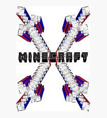 Minecraft - tshirt,bags,pillow,tanks,mugs,cases Photographic Print