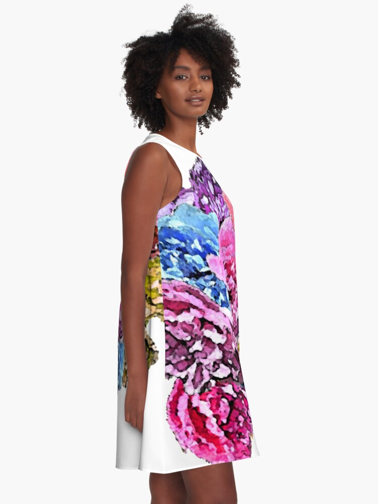 Alternate view of Roses A-Line Dress