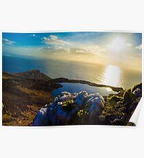 Quartz on the mountain Poster