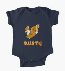 Rusty Eagle Sticker One Piece - Short Sleeve
