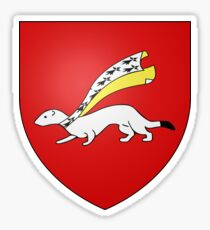 Coat of Arms of Vannes, France Sticker