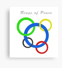 Rings of Peace 52318 Canvas Print
