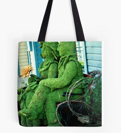 Lover Bench Art Tote Bag