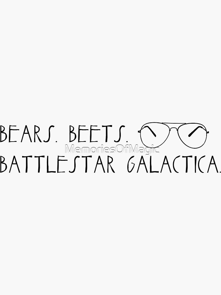 Osos. Remolachas Battlestar Galactica. de MemoriesOfMagic