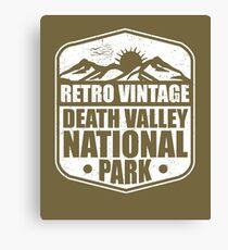 Death Valley National Park Souvenir T-shirt for Men, Women, Kids Canvas Print