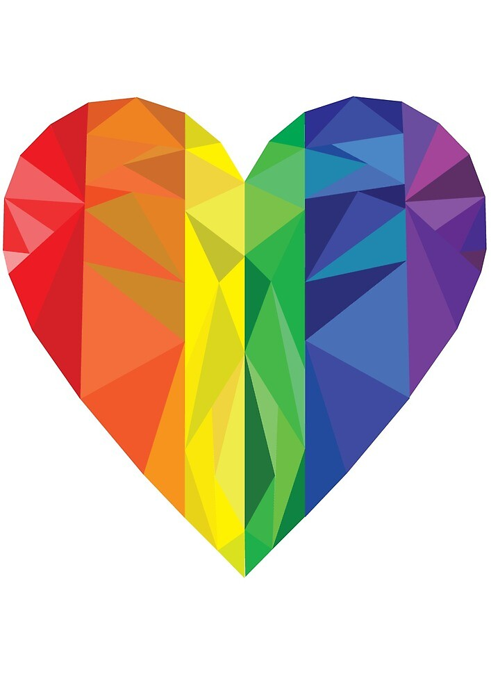 Pride Heart by Sean French