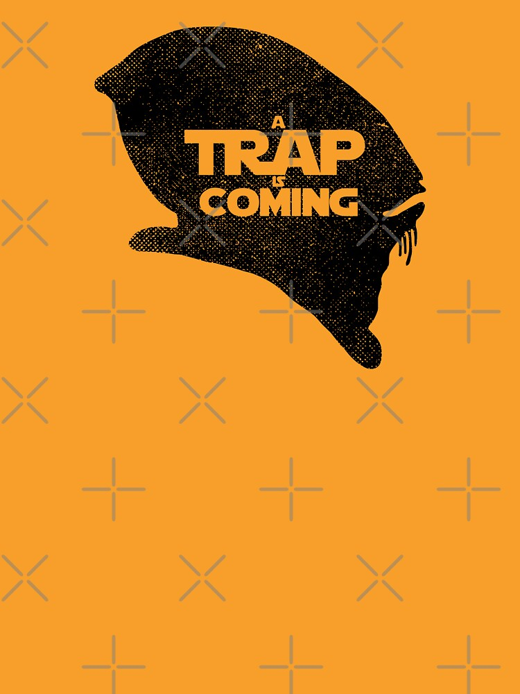 A Trap is Coming - black by RevolutionGFX