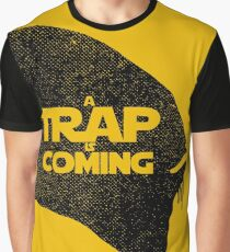 A Trap is Coming - black Graphic T-Shirt